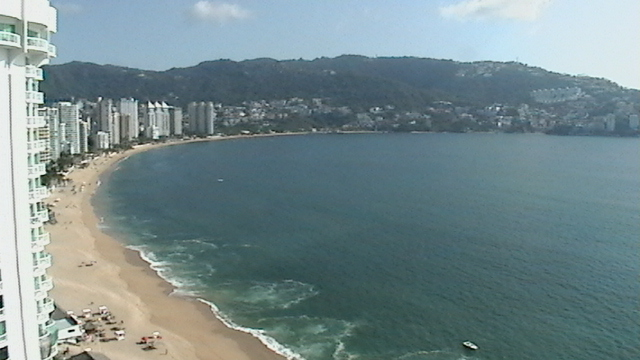 The Bay of Acapulco Mexico Beach